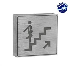 Φωτιστικό LED Σήμανσης Αλουμινίου Σκάλας Επάνω