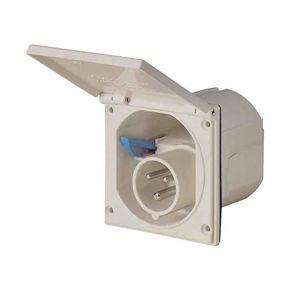 ABL-Sursum Πρίζα Αρσενική Χωνευτή Τροχόσπιτου 3x16