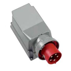 ABL-SURSUM Επίτοιχη Εξωτερική Πρίζα Αρσενική Βιομηχανικού Τύπου 5x125A 400V IP67