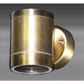 ACA Απλίκα Σποτ Μονό GU10 Ανοξείδωτο Ατσάλι Bronze IP54