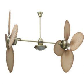 ACA LED Ανεμιστήρας Οροφής 8 Φτερών Μονόφωτο
