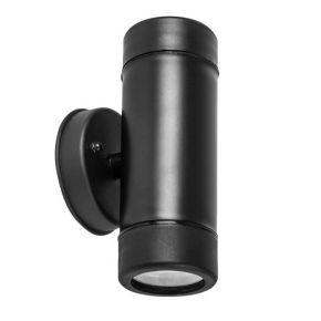 ACA LED Απλίκα Τοίχου 2 Δέσμεων 3W GU10 Πλαστική