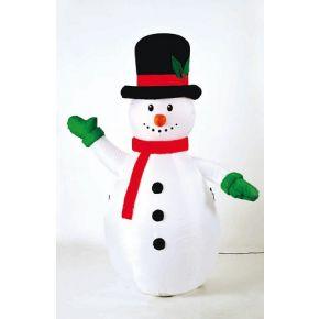 ACA LED Φουσκωτός Χιονάνθρωπος 12W RGB 180cm IP44