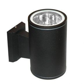 ACA LED Spot Απλίκα Εξωτερικού Χώρου 1 Δέσμη Ε27 Black