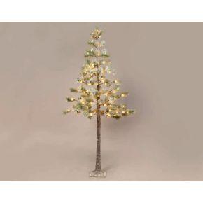 ACA LED Χιονισμένο Pine Δεντράκι 128 LEDs mini 3.6W (XLarge)