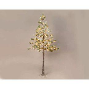 ACA LED Χιονισμένο Pine Δεντράκι 96 LEDs mini 3.6W (Large)