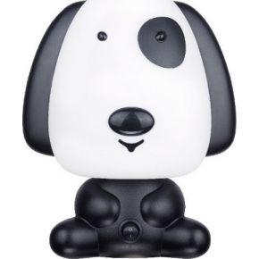 ACA Πορτατίφ Παιδικό E14 Σκυλάκι Μαύρο Friends