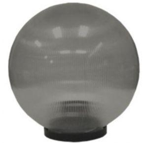 ACA Πρισματική Ακρυλική Μπάλα Με Γρίφα E27 Φιμέ Ø25