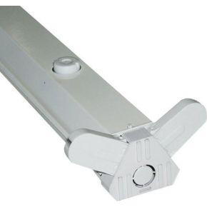ACA Σκαφάκι Απλό LED T8 Delta 2x36W 2x120cm