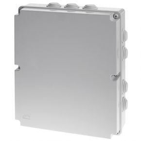 ACA Στεγανό Κουτί 460x380x120 με Λάστιχο για Στυπιοθλίπτες IP54