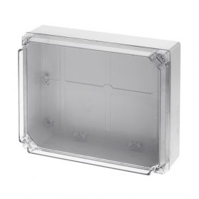 ACA Στεγανό Κουτί Διακλάδωσης 310x240x120 με Διάφανο Καπάκι IP65