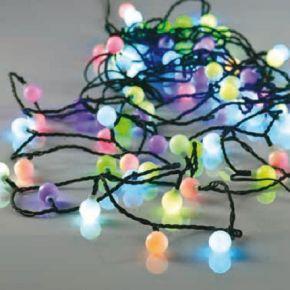 ACA 80 LED Λαμπάκια White Ball 0.9W RGB 8m