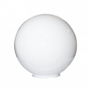ACA Ακρυλική Μπάλα Χωρίς Γρίφα E27 Opal Ø40