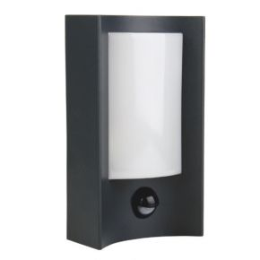 ACA Απλίκα LED SMD 7W Με Αισθητήρα Κίνησης Σκούρο Γκρι IP54 Epistar