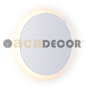 ACA Επίτοιχο Φωτιστικό LED 24W Κύκλος Eclipse