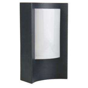 ACA Φωτιστικό Κήπου Αλουμινίου LED SMD Mirande 7W IP54 Σκούρο Γκρι