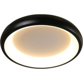 ACA Φωτιστικό Οροφής Πλαφονιέρα LED 34W Dimmer Μεταλλικό D41XH8,5CM DIANA