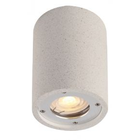 ACA Φωτιστικό Οροφής Τσιμεντένια Arete GU10 Max 7W LED IP65