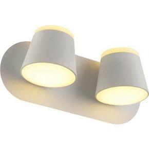 ACA Φωτιστικό Τοίχου LED 16W Μεταλλικό Lucido