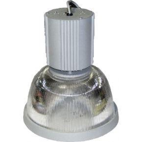 ACA Κρεμαστή Καμπάνα Κενό E27 Αλουμίνιο Γκρι
