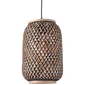 ACA Κρεμαστό Φωτιστικό Bamboo E27 Sahara