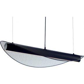 ACA Κρεμαστό Φωτιστικό LED 18W Μεταλλικό Μαύρο Michelle