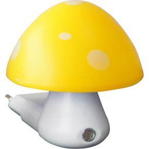 ACA Λαμπάκι Νυκτός LED Μανιταράκι Μέρας-Νύχτας 0.4W