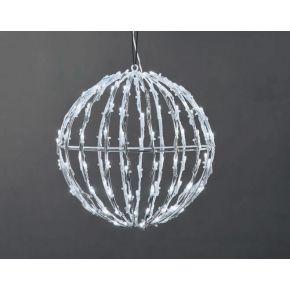 ACA LED 3D Χριστουγεννιάτικη Μπάλα 150 Steady Leds 5mm 30x30x31cm IP44