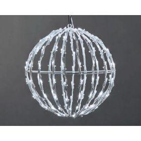 ACA LED 3D Χριστουγεννιάτικη Μπάλα 200 Steady LEDs 5mm 40x40x41cm IP44