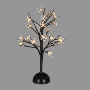 ACA LED Δεντράκι Με Λουλούδια 25 LEDs 5mm Μπαταρίας IP20