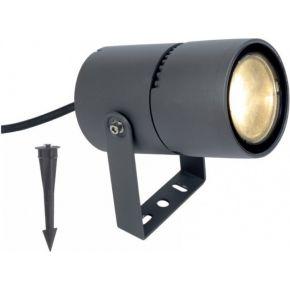 ACA LED Φωτιστικό Κήπου Lotos 9W IP65 Σκούρο Γκρι