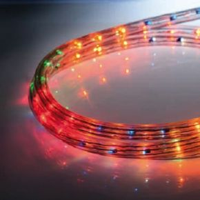 ACA LED Φωτοσωλήνας 16.8W/m 36 LED/m Δικάναλος IP20 100m