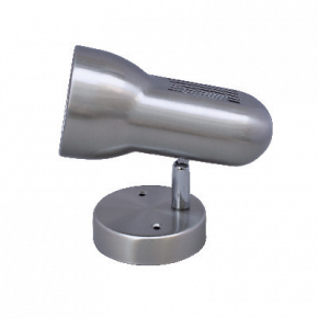 ACA LED Spot Οροφής E27 R63 Nickel