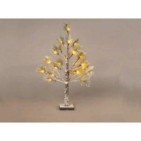 ACA LED Χιονισμένο Pine Δεντράκι 24 LEDs mini 3.6W (Mini)