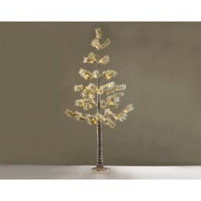 ACA LED Χιονισμένο Pine Δεντράκι 56 LEDs mini 3.6W (Medium)