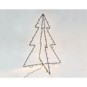 ACA LED Χριστουγεννιάτικο Δέντρο 90 Steady Leds 5mm 75x75x85cm IP44
