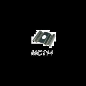 ACA Μεταλλικό κλιπ στερέωσης για Προφίλ P114