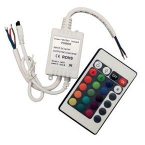 ACA Mini RGB LED Controller + IR Remote Control
