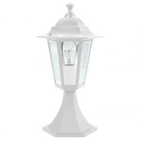 ACA Πλαστικό Φανάρι Δαπέδου Hexagon E27 LED max. 10W 230V