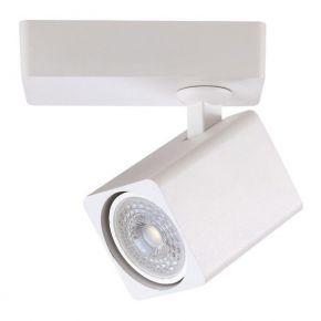 Eurolamp Spot Τοίχου Μονό Τετράγωνο GU10