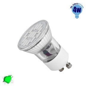 LED Spot GU10 M35 4W 230v Πράσινο