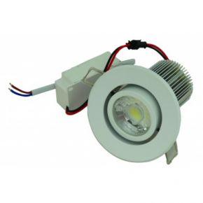 AG LED Φωτιστικό Οροφής 8W Χωνευτό Κινητό