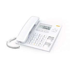 Alcatel Ενσύρματο Τηλέφωνο με Αναγνώριση Κλήσης Τ56