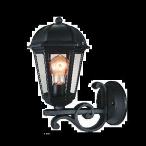 Alfa LED Απλίκα Άνω Τοίχου Φανάρι 60W E27 IP44 Κέρκυρα Type B