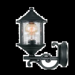 Alfa LED Απλίκα Άνω Τοίχου Φανάρι 60W E27 IP44 Νάξος Type B