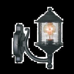 Alfa LED Απλίκα Άνω Τοίχου Φανάρι 60W E27 IP44 Νάξος