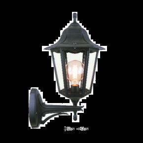 Alfa LED Απλίκα Άνω Τοίχου Φανάρι 60W E27 IP44 Πάρος