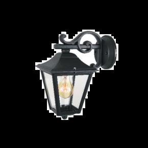 Alfa LED Απλίκα Κάτω Τοίχου Φανάρι 60W E27 IP44 Κρήτη Type B