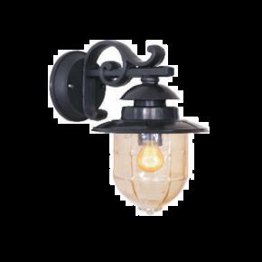 Alfa LED Απλίκα Κάτω Τοίχου Φανάρι 60W E27 IP44 Ζάκυνθος