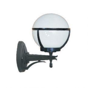 Alfa LED Απλίκα Μπασκέτα Άνω με Opal Μπάλα 40W E27 IP44